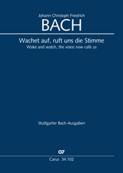 Johann Christoph Friedrich Bach: Wake, o wake and hear the voices