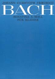 Johann Christoph Friedrich Bach: Sonatina in a