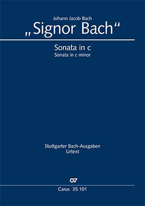 """Signor"" Bach: Sonata in C minor"