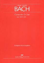 Johann Sebastian Bach: Concerto in D