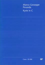 Marco Gioseppe Peranda: Kyrie in C