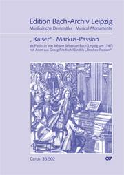 früher zugeschrieben Reinhard Keiser: St. Mark Passion