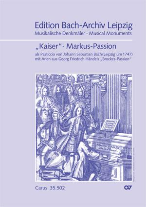 früher zugeschrieben Reinhard Keiser: Markus-Passion