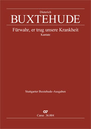 Dieterich Buxtehude: Behold, he carried all our sorrows
