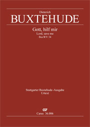 Dieterich Buxtehude: Lord, save me