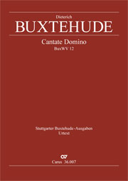 Dieterich Buxtehude: Cantate Domino