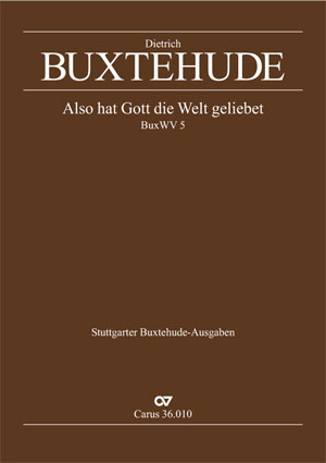 Dieterich Buxtehude: For God, so loved the world
