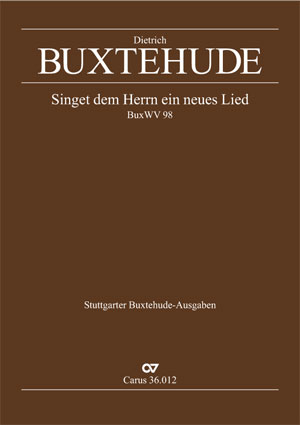 Dieterich Buxtehude: Sing we to God a new made song