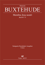 Dieterich Buxtehude: Membra Jesu nostri