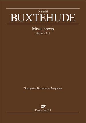 Dieterich Buxtehude: Missa brevis