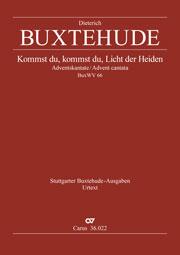 Dieterich Buxtehude: Kommst du, Licht der Heiden