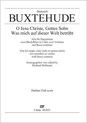 Dieterich Buxtehude: O Jesu Christe, Gottes Sohn