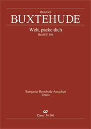 Dieterich Buxtehude: World, away, I long only for heaven