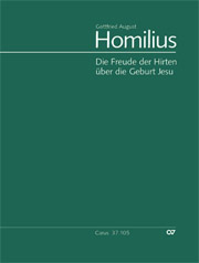 Gottfried August Homilius: Die Freude der Hirten über die Geburt Jesu