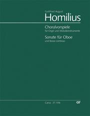 Homilius: Sämtliche Choralvorspiele. Werkausgabe