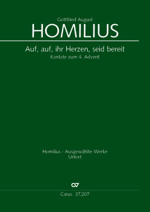 Gottfried August Homilius: Auf, auf, ihr Herzen, seid bereit