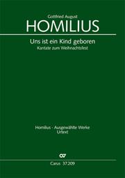 Gottfried August Homilius: Uns ist ein Kind geboren
