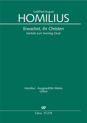 Gottfried August Homilius: Erwachet, ihr Christen