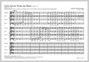 Gottfried August Homilius: Groß sind die Werke des Herrn