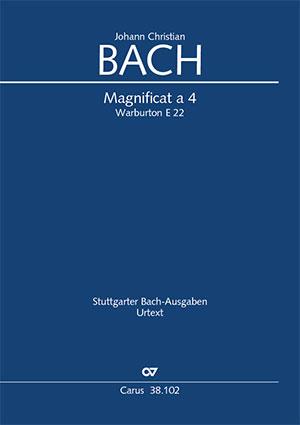 Johann Christian Bach: Magnificat a 4