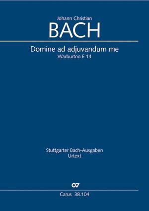Johann Christian Bach: Domine ad adjuvandum me