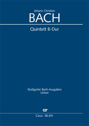 Johann Christian Bach: Quintett in B