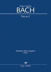 Johann Christian Bach: Trio in C