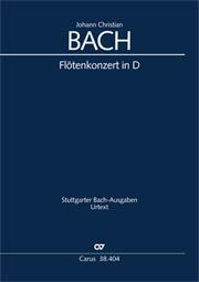 Johann Christian Bach: Concerto for Flute in D major
