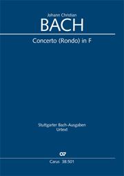 Johann Christian Bach: Orgelkonzert in F