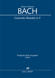 Johann Christian Bach: Organ Concerto in F major