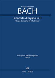Johann Christian Bach: Orgelkonzert in B