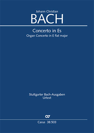 Johann Christian Bach: Organ Concerto in E flat major