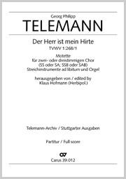 Georg Philipp Telemann: Der Herr ist mein Hirte