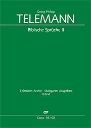 Telemann: Biblische Sprüche 2