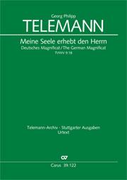 Georg Philipp Telemann: All my spirit exalts