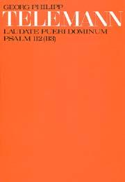 Georg Philipp Telemann: Laudate pueri Dominum