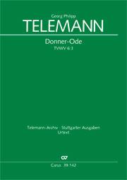 Georg Philipp Telemann: Donner-Ode