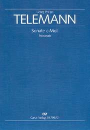 Georg Philipp Telemann: Sonate en ut mineur