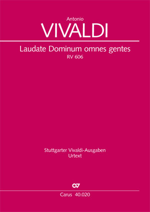 Antonio Vivaldi: Laudate Dominum omnes gentes