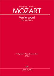 Wolfgang Amadeus Mozart: Venite populi