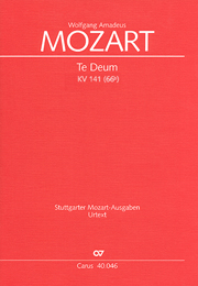 Wolfgang Amadeus Mozart: Te Deum