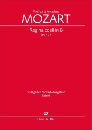 Wolfgang Amadeus Mozart: Regina coeli in B