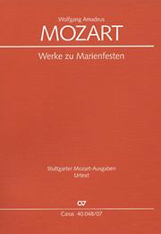 Mozart: Werke zum Marienfest