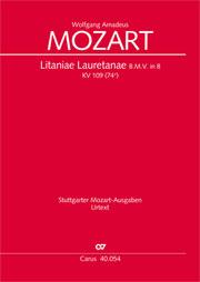 Wolfgang Amadeus Mozart: Litaniae Lauretanae B.M.V. en si bémol majeur