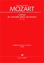 Wolfgang Amadeus Mozart: Litaniae de venerabili altaris Sacramento in B