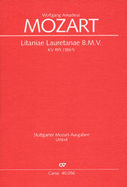 Wolfgang Amadeus Mozart: Litaniae Lauretanae B.M.V. in D