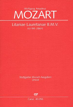 Wolfgang Amadeus Mozart: Litaniae Lauretanae B.M.V. en ré majeur