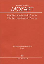Mozart: Litaniae Lauretanae in B und D
