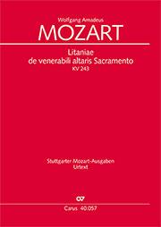 Wolfgang Amadeus Mozart: Litaniae de venerabili altaris Sacramento in Es