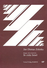 Jan Dismas Zelenka: When Israel's people went out of Egypt